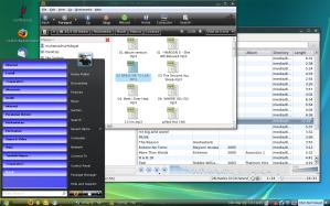 Hasil Permak Ubuntu Rasa Vista