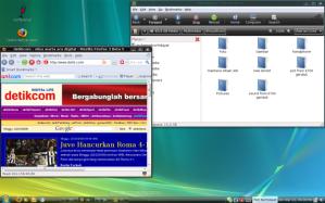 Desktop VistaBuntu :D