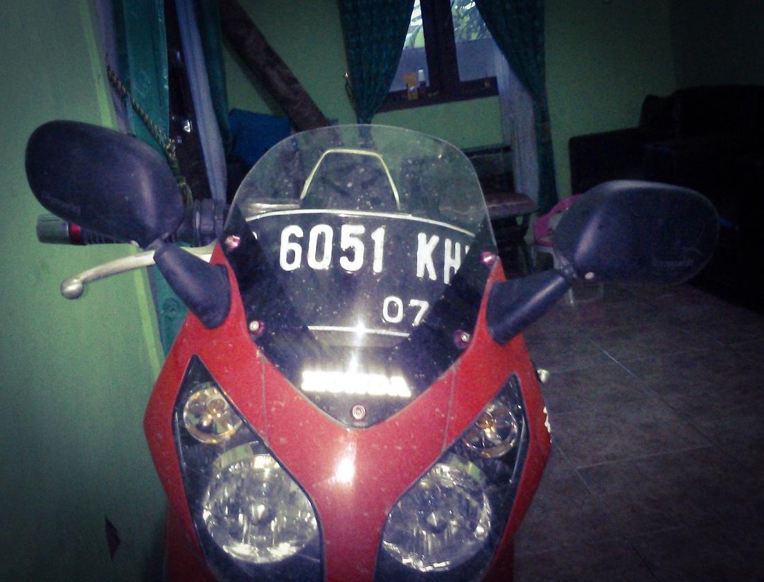 Ganti Spion Ori old CBR150R dengan Spion Kawasaki Ninja 150RR