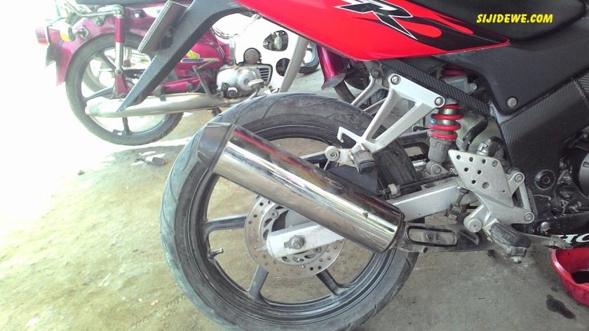 Silencer Honda old CBR150R Honda CS1