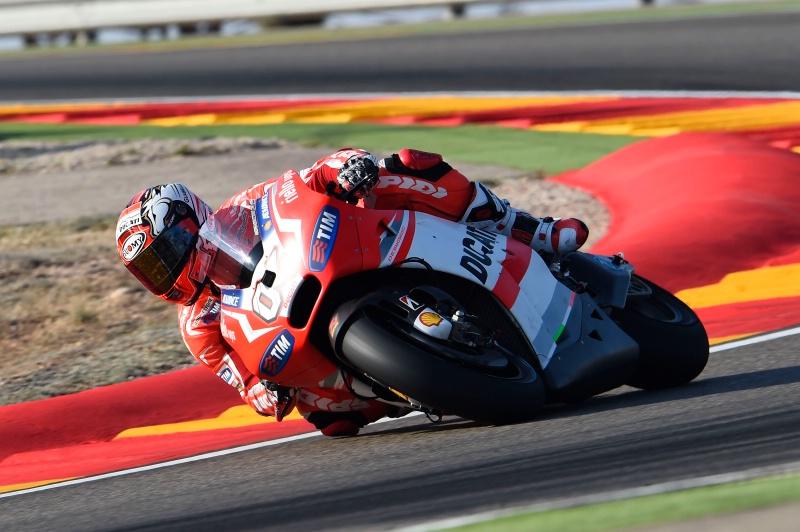 Free Practice 2 MotoGP 2014 Aragon Andrea Davizioso