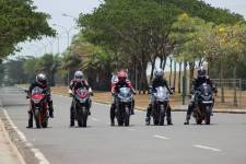 Simulasi Road Race CBR250CC