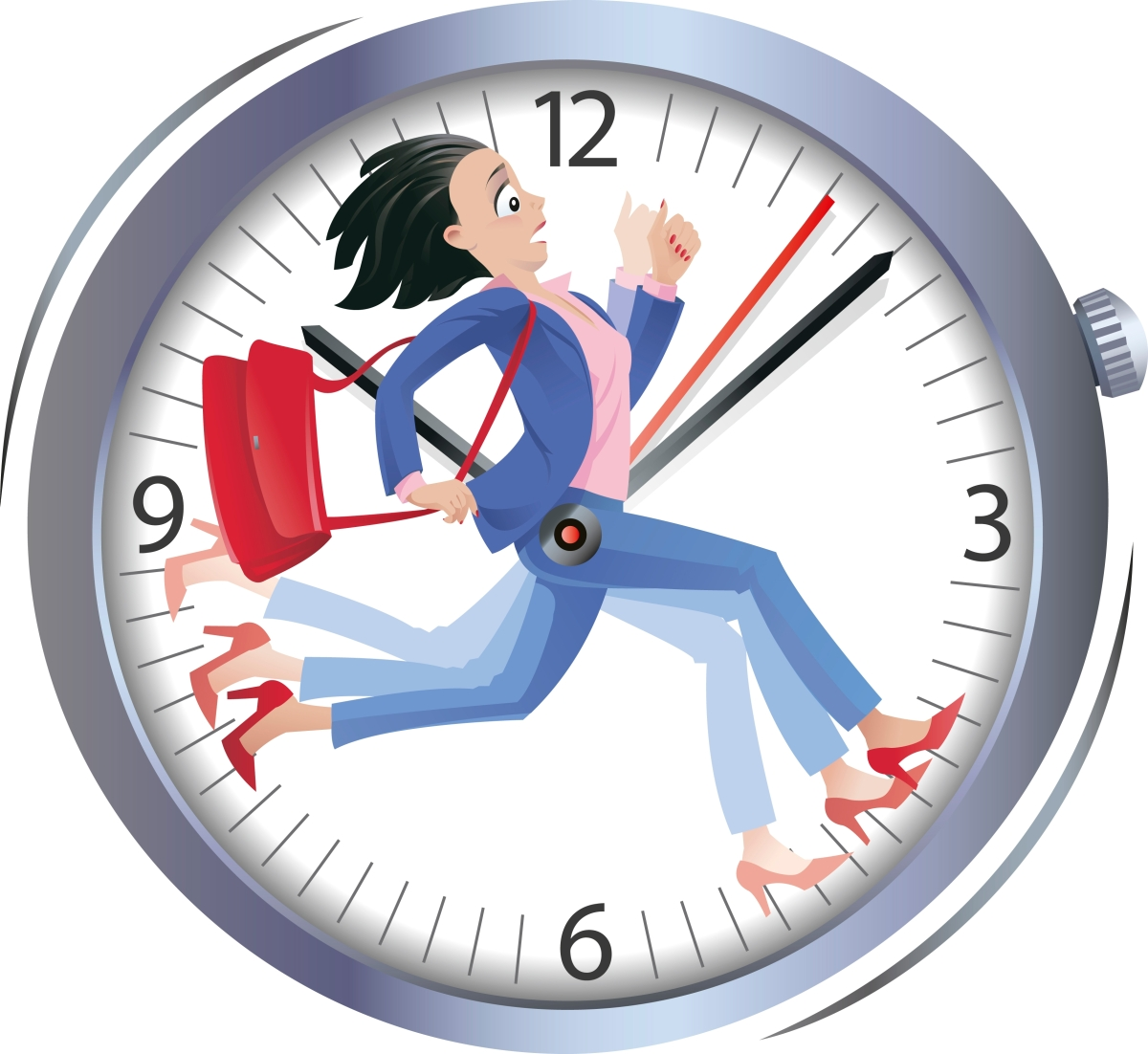 Lebih Baik Menunggu 2 Jam daripada terlambat 1menit