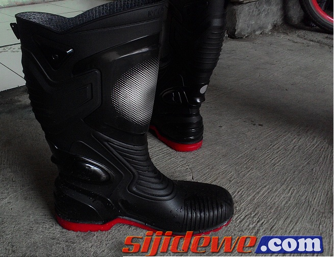 Riding Gear Review Ap Boot Moto3, Aman dari hujan, Fun Riding jugaOK