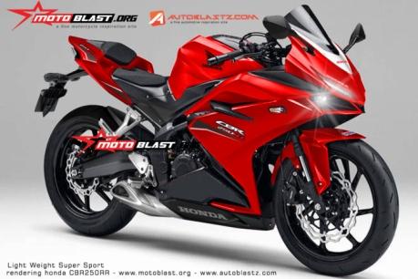 cbr250rr red