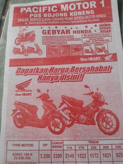 Honda-Jual-satria-FU
