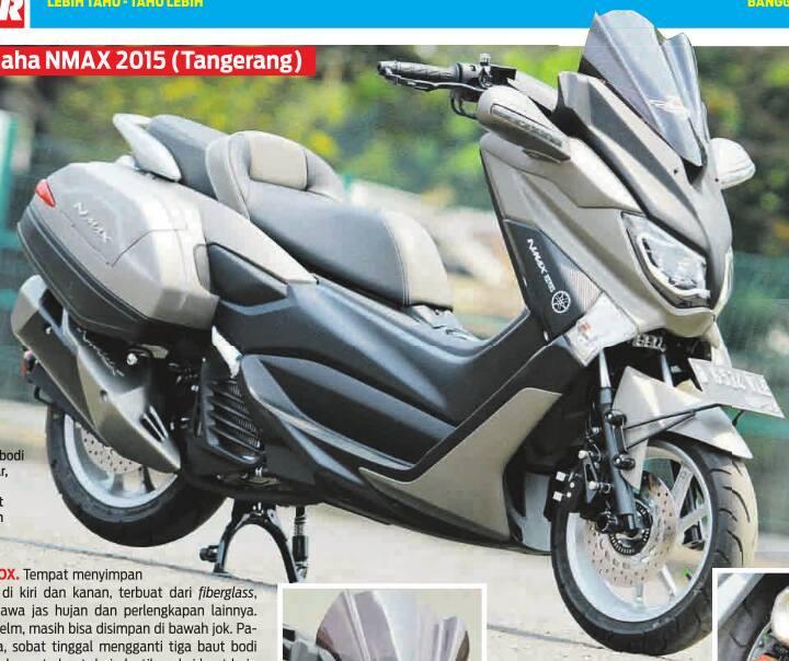 modifikasi yamaha nmax  ala vip scooter ciamikkk tenan